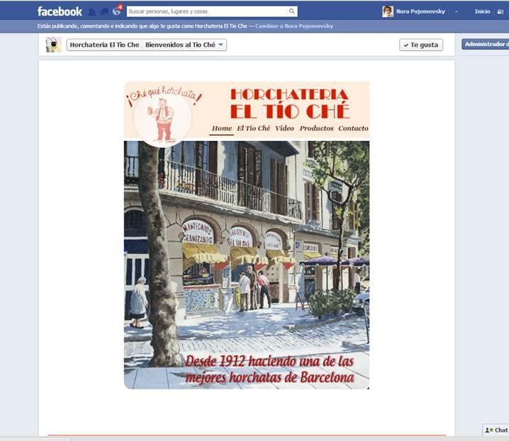 Facebook El Tio Ché